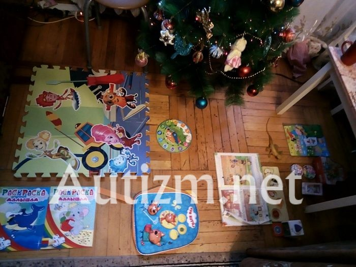 Аутизм и раскладывание игрушек. Миланочкины «алтари или тотемы»